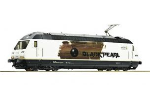 "Roco 73277 HO Gauge - Electric locomotive 465 016 ""Black Pearl"", BLS DCC Sound"